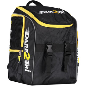 Dare2Tri Transition Rugzak 13L, black/yellow